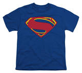 Youth: Man of Steel - 8 Bit Shield Shirt