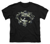Youth: Man of Steel - Skulls And Symbols T-shirts