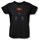 Womans: Man of Steel - MoS Costume Shirts