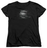 Womans: Man of Steel - MoS Shield Burst T-shirts