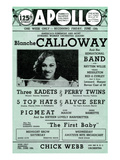 Apollo Theatre: Blanche Calloway and Band, Three Kadets, Perry Twins, 5 Top Hats and More Prints