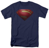 Man of Steel - MoS Shield (slim fit) T-Shirt