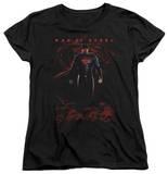 Womans: Man of Steel - Super Skulls T-Shirt
