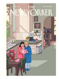 Mothers' Day - The New Yorker Cover, May 13, 2013 Regular Giclee Print by Chris Ware