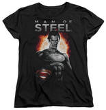 Womans: Man of Steel - Steel Shirts