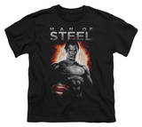 Youth: Man of Steel - Steel T-Shirt