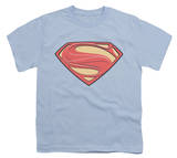 Youth: Man of Steel - New Solid Shield T-Shirt