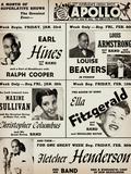 Apollo Theatre: Earl Hines, Louis Armstrong, Ella Fitzgerald, Fletcher Henderson and More - Reprodüksiyon