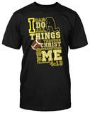 I Can Do All- Football T-shirts