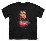 Youth: Man of Steel - Super Bust T-Shirt