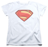 Womans: Man of Steel - New Solid Shield T-Shirt