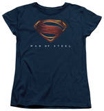 Womans: Man of Steel - MoS New Logo Shirts
