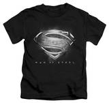 Youth: Man of Steel - Contrast Symbol T-shirts