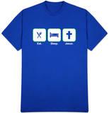 Eat Sleep Jesus T-shirts