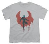 Youth: Man of Steel - Paint Cape T-Shirt