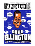 Apollo Theatre Newspaper Ad: Duke Ellington and Orchestra, Isabel Brown, Ivy Anderson and More Prints
