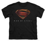 Youth: Man of Steel - MoS New Logo T-Shirt