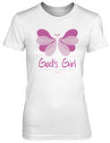 Juniors: Butterfly Girl Unfading Beauty Shirt