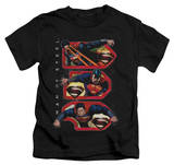Youth: Man of Steel - Tri Supes T-Shirt