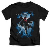 Youth: Man of Steel - Steel Lightning T-Shirt