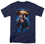 Man of Steel - Superman & Symbol (slim fit) T-shirts