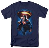 Man of Steel - Superman & Symbol (slim fit) T-shirts