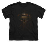 Youth: Man of Steel - MoS Glyph Shield T-Shirt
