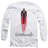 Long Sleeve: Man of Steel - Red Streak Shirts