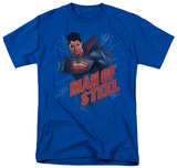 Man of Steel - Lightning Power T-shirts