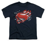 Youth: Man of Steel - Americas Hero T-shirts