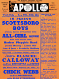 Apollo Theatre: Scottsboro Boys, Blanche Calloway, Chick Webb, Ella Fitzgerald, and More Giclee Print