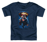 Toddler: Man of Steel - Superman & Symbol Camiseta