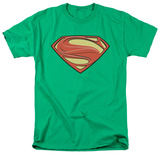 Man of Steel - New Solid Shield T-shirts