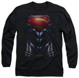 Long Sleeve: Man of Steel - MoS Costume Vêtements