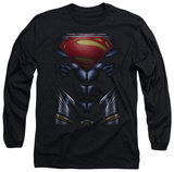 Long Sleeve: Man of Steel - MoS Costume T-Shirt