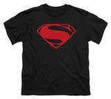 Youth: Man of Steel - Red Glyph T-Shirt