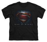 Youth: Man of Steel - Man of Steel Shield Shirts