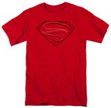 Man of Steel - Glph Lines (slim fit) T-Shirt