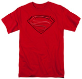 Man of Steel - Glph Lines Shirt