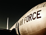 Air Force Airplane Poster