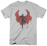 Man of Steel - Paint Cape (slim fit) T-Shirt