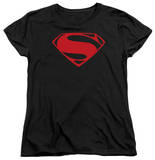 Womans: Man of Steel - Red Glyph Shirts