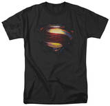 Man of Steel - Grungy Shield T-shirts