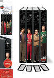 The Big Bang Theory Binder Labels Stickers