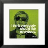 Everybody Prints by Warhol Andy
