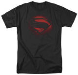 Man of Steel - Super Spray T-shirts