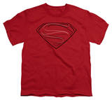 Youth: Man of Steel - Glph Lines Shirts