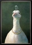 Michael Sowa - Fowl with Pearls - Art Print