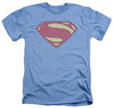 Man of Steel - New MoS Distessed Shield Shirts