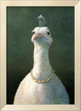 Michael Sowa - Fowl with Pearls - Poster